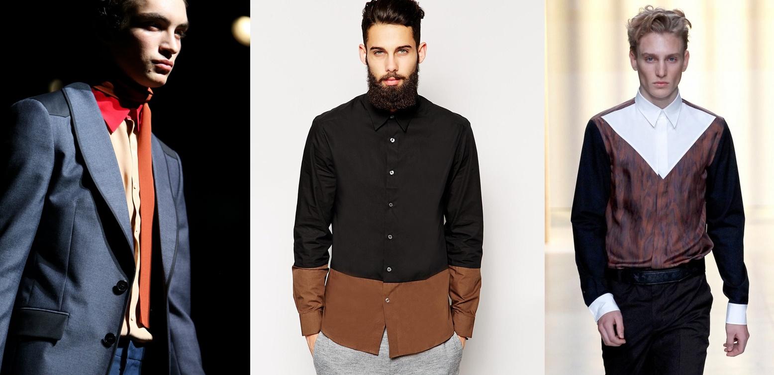 Пальто осінь року модні чоловічі. Чоловіча мода  сорочки ce7d97b1c9590